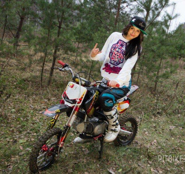 Pitbike Girl